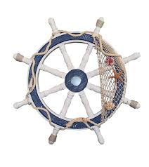 Sailboat Wheel Wall Decor by Ship Wheels Nautical Decorations
