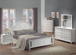 Interesting Distressed White Bedroom Furniture and Wonderful