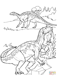 Click The Iguanodon Dinosaurs Coloring Pages To View Printable