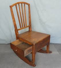Elm Nursing Rocking Chair