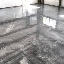 100 Solids Epoxy Garage Floor Coating Canada by Epoxy Metallic Flooring Systems Seal Krete High Performance Coatings