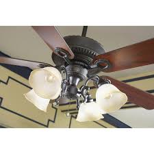 Harbor Breeze 52 Inch Ceiling Fan by Shop Harbor Breeze Merrimack 52 In Antique Bronze Outdoor Downrod