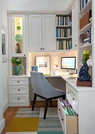 Decorate A Small House Best Office Spaces Ideas On Cabinet Interesting