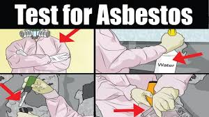 Popcorn Ceiling Asbestos Testing Kit by Asbestos How To Test For Asbestos Youtube