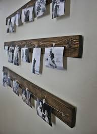 Rustic Wall Picture Display