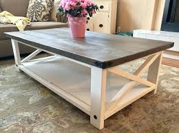 Diy End Tables With Storage Large Size Of Console White Rustic X Table Coffee