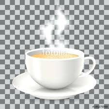 Tea Cup Transparent Background Download Empty Teacup With Saucer Isolated On White