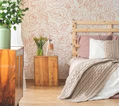 romantische schlafzimmer fototapeten natur modern pixers wir leben um zu verändern