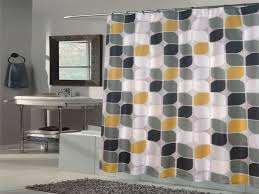 Accessories Modern Shower Curtain Interior Decoration and Home