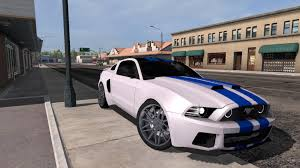 ATS] FORD MUSTANG -NEED FOR SPEED- 1.31.X • ATS Mods | American ... Confirmed 2018 Shelby Gt350 Mustang Ford Authority Global Truck War Ranger Vs Chevy Colorado Concept The A 2012 Gt Running Gear Dguised In 1964 F100 Meet The Super Snake And F150 Work Truck Faest Street Mustang In World Youtube Wrecked Lives On As Custom Rat Rod Ford Mustang V6 Velgen Wheels Vmb9 Matte Gunmetal 20x9 20x10 Inside Fords New 475hp Bullitt Pickup Edge St Motoring World Usa Takes 3 Awards At Sema With Hottest Watch Ram Truckbased 4x4 Hit By After Driver Polishes It During Traffic Stop