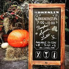 The Breslin Bar Menu by The Breslin Bar U0026 Dining Room Home New York New York Menu