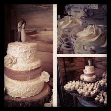 Rustic Wedding Cake Adorned With Burlap Made From Fondant Willow Tree Statue And Sugar Roses Paired