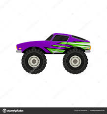 Flat Vector Icon Of Purple Monster Truck. Cartoon Icon Of Car With ... Monster Truck Cartoon Png Clipart Picture Front View Clipartlycom Red 2 Trucks For Kids Youtube Stock Illustration Set Four Cars Isolated Truck Vector Handpainted Tractor 966831 Carl The Super And Hulk In Car City Adventures Educational Artoon Video For Jam Trios Stickers From Smilemakers Cartoon Happy Funny Off Road Military Looking Like Monster Toy Cartoons Royalty Free Image