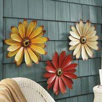 Opulent Design Metal Wall Art Flowers 3d Contemporary Decorative Hanging At Hobby Lobby Large