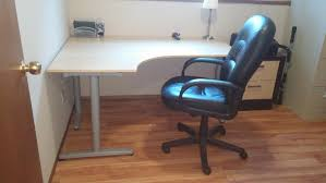 Ikea Galant Corner Desk Manual by Find More Ikea Galant 18222 And Leather Office Chair For Sale At