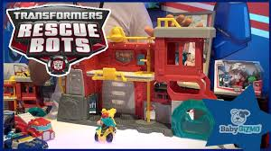 Transformers Rescue Bots Firehouse Headquarters NEW Toy Playset ...