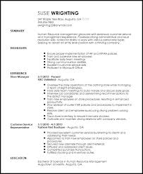 Free Entry Level Recruiter Resume Template