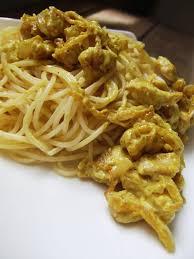 pates au blanc de poulet sauce indienne pour pâtes sauce poulet curry le de de