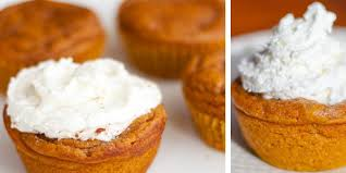 Crustless Pumpkin Pie by Irresistible Pumpkin Pie Cupcakes The Krazy Coupon Lady