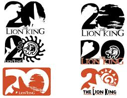 Lion King 20th Anniversary Logo Designs By Samoht