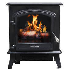 RedCore S 2 1500w Infrared Electric Fireplace Stove Heater