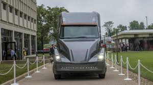 100 Aerodynamic Semi Truck Cummins Beats Tesla To The Punch By Revealing Electric Semi