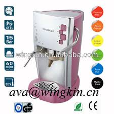 Lovely Pink Italy Pod Cappuccino Espresso Coffee Machine