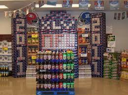 The Greatest Super Bowl Grocery Retail Displays Of 2011