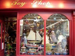 Marbella Old Quarter Toy Shop In Town C Robert Bovington