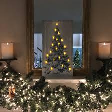 Spiral Christmas Tree Lighted by Snowy Christmas Tree Lighted Canvas U2013 Lisa Robertson