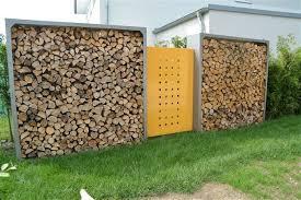 kaminholzregale brennholzregale für außen und innen aus metall