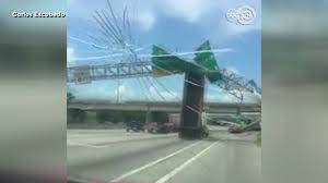 Big Rig Crashes Into Sign Over East Loop, Sends It Crashing To The ...