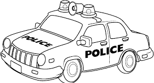 Awesome Police Car Coloring Pages 86 With Additional Online