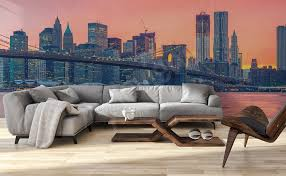 Big Ang Mural Brooklyn by Murals Bridges U2022 To Size Of Wall Myloview Com