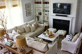 Small Rectangular Living Room Layout by Beautiful Deep Leather Sofa 82 For Sofas And Couches Ideas With