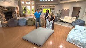 CordaRoys Full Size Convertible Bean Bag Chair By Lori Greiner With Dan
