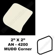 daltile 0135 almond 2x2 mudd bullnose corner an 4200 dal
