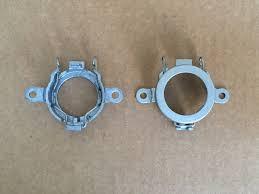 2x oem d2r xenon hid headlight bulb holders low beam