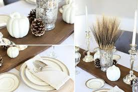 Rustic Wood Thanksgiving Table Runner