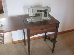 sears kenmore vintage 60 s zig zag sewing machine model 1301