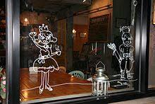 Window Art Of The 1st Shop Coffee Prince