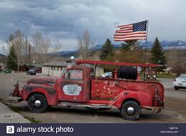 100 Truck Flag Old Chevrolet Fire Truck And American Ridgeway San Juan