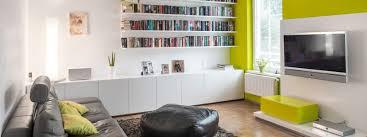 für gute laune wohnzimmer in weiß und grün