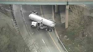 I-95 SB, I-476 SB To I-95 NB Reopen In Delco After Tanker Crash ... Coroner Ids Victim Of Accident Near New Tripoli Wfmz 1 Killed Several Injured In Fiery Crash Volving Propane Tanker Khon I95 Sb I476 To Nb Reopen Delco After Homes Evacuated Truck Fire Capital Region Overturned Delivery Towed From Scene See Driver News Wincheerstarcom Propane Closes Hwy 126e East Mckenzie Bridge Kval Burns Out Nearly 24 Hours Whtm Truck Accident 3 6 2012 Crash Closes Route 49 Voluntown Nbc Connecticut Go Ahead Strap A Tank The Back Your What Could Highway 71 Northern Minn