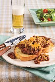 Ground Beef Recipes Cheesy BBQ Sloppy Joes