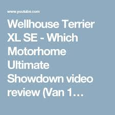 Wellhouse Terrier XL SE