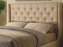 Wayfair Upholstered Queen Headboards by 300332 Upholstered Bed In Tan Fabric By Coaster
