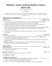 Resume Objective For Manufacturing Sample Hotel Restaurant Technician
