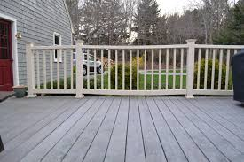 How To Fix Sagging Composite Deck Railing - Home Improvement Stack ... Best 25 Deck Railings Ideas On Pinterest Outdoor Stairs 7 Best Images Cable Railing Decking And Fiberon Com Railing Gate 29 Cottage Deck Banister Cap Near The House Banquette Diy Wood Ideas Doherty Durability Of Fencing Beautiful Rail For And Indoors 126 Dock Stairs 21 Metal Rustic Title Rustic Brown Wood Decks 9