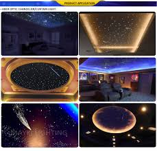 Fibre Optic Ceiling Lighting by 12v Dc 5w Animation Led Fibre Optic Light Engine For Shooting Star